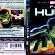 Planet Hulk (2010) R2 German Blu-Ray Cover & label