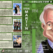 Steve Martin Film Collection - Set 2 (1984-1987) R1 Custom Covers