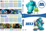 Monsters, Inc / Monsters University Double Feature (2001-2013) R1 Custom Cover