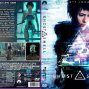 Ghost in the Shell (2017) R2 German Custom V2 Cover & Label