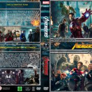The Avengers / Avengers - Age of Ultron (Double Feature) (2012/2015) R2 GERMAN Custom DVD Cover