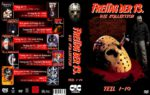 Freitag der 13. Teil 1-10 (35mm Spine) (1980 – 2001) R2 GERMAN Custom DVD Cover
