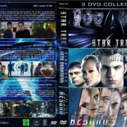 Star Trek I-III (Triple Feature) (2009-2016) R2 GERMAN Custom DVD Cover