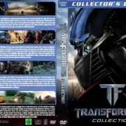 Transformers 1-4 (The Collection) (2007-2014) R2 GERMAN Custom DVD Cover