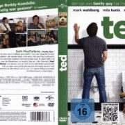 Ted (2012) R2 German Cover & Label