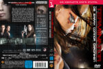 Terminator The Sarah Connor Chronicles Staffel 1 (2008) R2 German Cover & Labels