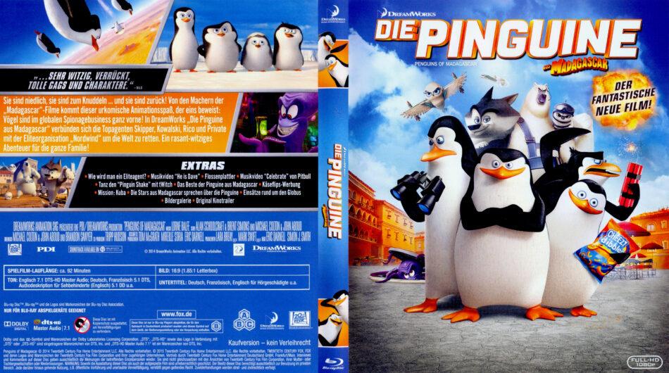 Die Pinguine Aus Madagascar Blu Ray Covers 2014 R2 German