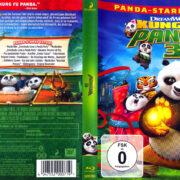 Kung Fu Panda 3 (2016) R2 German Blu-Ray Cover