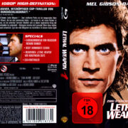 Lethal Weapon – Zwei stahlharte Profis (1987) R2 German Blu-Ray Cover