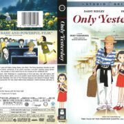 Only Yesterday (2016) R1 Cover