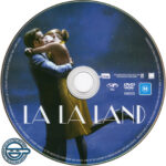 La La Land (2016) R4 DVD Label