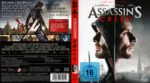 Assassins Creed (2016) R2 German Blu-Ray Cover