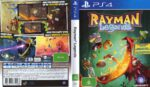 Rayman Legends (2014) PAL PS4 Cover & Label
