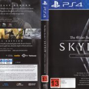 The Elder Scrolls V: Skyrim Special Edition (2016) PAL PS4 Cover