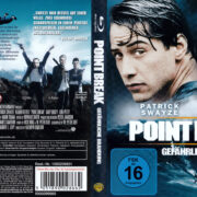 Point Break – Gefährliche Brandung (1991) R2 German Blu-Ray Covers & Label