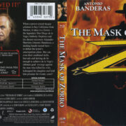 The Mask Of Zorro (1998) R1 Blu-Ray Cover & Label