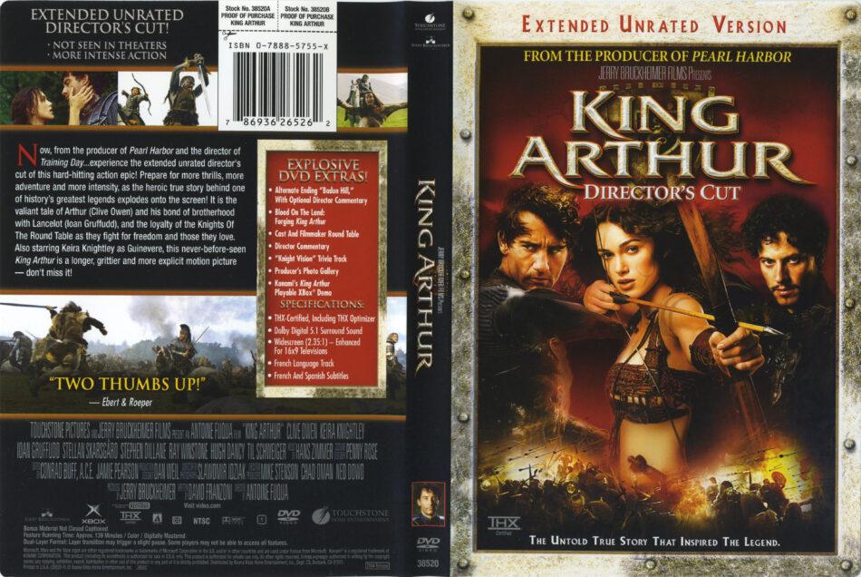 King Arthur Dvd Cover Label 2004 R1