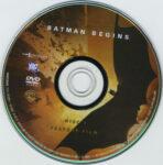 Batman Begins (2005) R1 DVD Labels