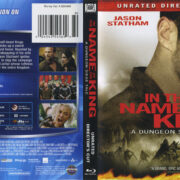 In the Name of the King: A Dungeon Siege Tale (2007) R1 Blu-Ray Cover & Label