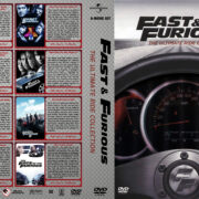 Fast & Furious: The Ultimate Ride Collection (2001-2017) R1 Custom Cover