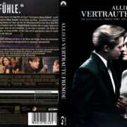 Allied – Vertraute Fremde (2016) R2 German Custom Blu-Ray Cover & Labels