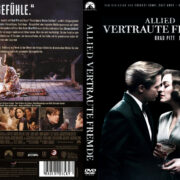 Allied – Vertraute Fremde (2016) R2 German Custom Cover & Labels