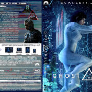 Ghost in the Shell (2017) R2 German Custom Blu-Ray Cover & Labels