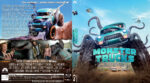 Monster Trucks (2016) R2 German Custom Blu-Ray Cover & Labels