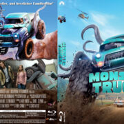 Monster Trucks (2016) R2 German Custom Blu-Ray Cover & Labels