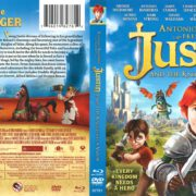 Justin and the Knights of Valor (2013) R1 Blu-Ray Cover