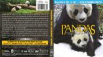 Pandas: The Journey Home (2014) R1 Blu-Ray Cover