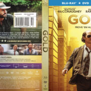 Gold (2016) R1 Blu-Ray Cover & Label