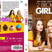 2 Broke Girls – Season 2 (2012) R2 Swedish Custom Cover