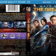 The Great Wall (2017) R1 Custom Blu-Ray Cover