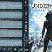 Underworld: The Legacy Collection (2003-2017) R1 Custom Blu-Ray Cover