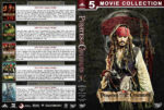 Pirates of the Caribbean: Complete Movie Collection (2003-2017) R1 Custom Cover & Label