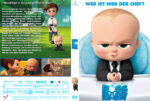 The Boss Baby (2017) R2 German Custom Cover & Labels