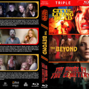 Gates of Hell Trilogy (1980-1981) R1 Custom Blu-Ray Cover