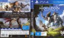 Horizon: Zero Dawn (2017) PAL PS4 Cover & Label