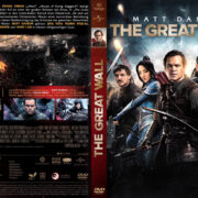 The Great Wall (2016) R2 German Custom DVD Cover
