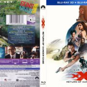 xXx Return of Xander Cage 3D (2017) R1 Blu-ray Cover