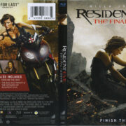 Resident Evil: The Final Chapter (2016) R1 Blu-Ray Cover & label