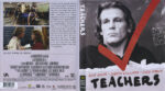 Teachers (1984) R1 Blu-Ray Cover & label