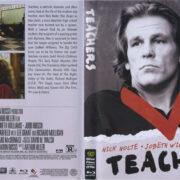 Teachers (1984) R1 Blu-Ray Cover & label