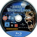 American Werewolf in London (1981) R2 Blu-Ray Label