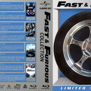 Fast & Furious Blu-Ray Collection (2001-2017) R1 Custom Blu-Ray Cover
