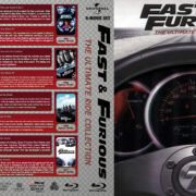 Fast & Furious: The Ultimate Ride Collection (2001-2017) R1 Custom Blu-Ray Cover
