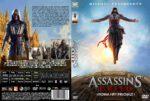 Assassin's Creed (2016) R2 Custom Czech DVD Cover