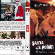 Bad Santa 2 (2016) R2 Custom Czech DVD Cover