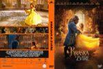 Beauty and the Beast (2017) R0 Custom Czech DVD Cover